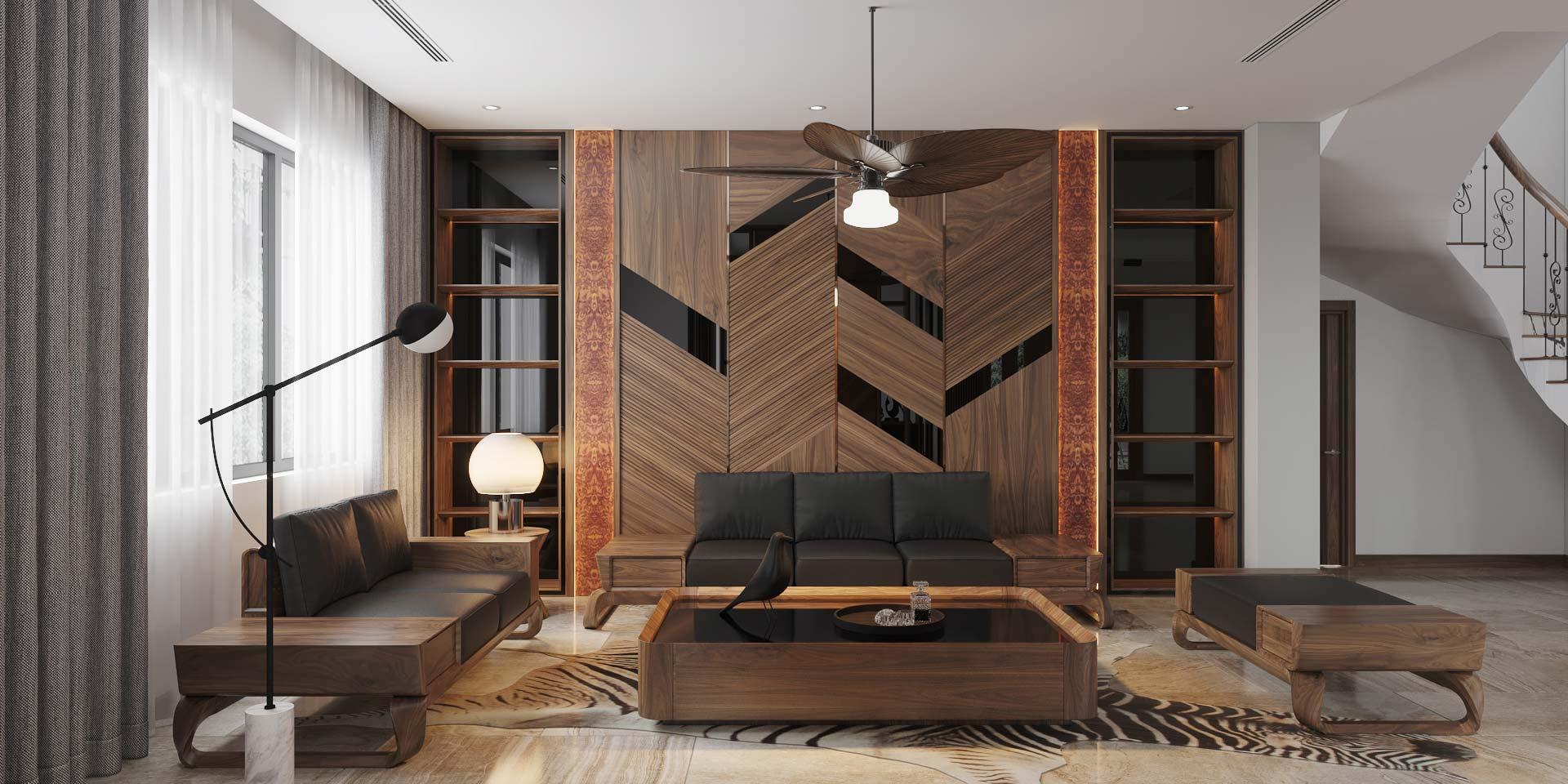 Thiết kế nội thất biệt thự, chung cư, nhà phố cao cấp