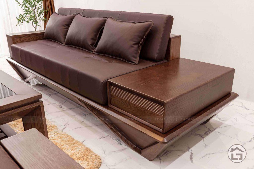 Sofa gỗ văng 3 chỗ