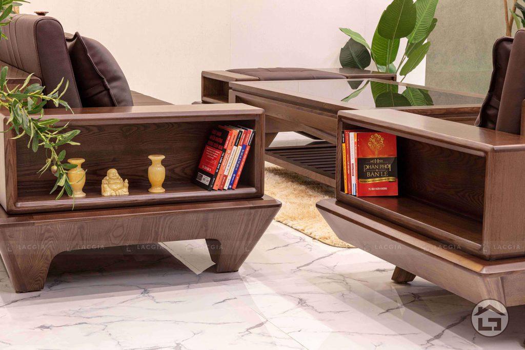 Sofa gỗ cao cấp cho phòng khách đẹp SF29