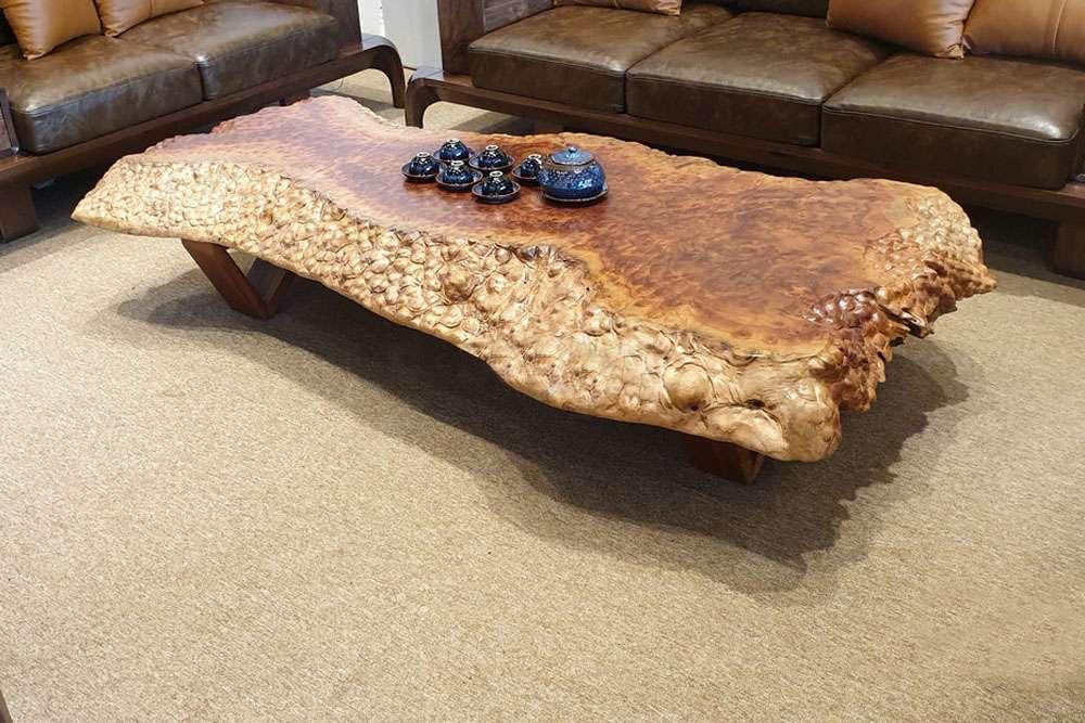 Gỗ xá xị được ứng dụng trong sản xuất đồ nội thất gỗ