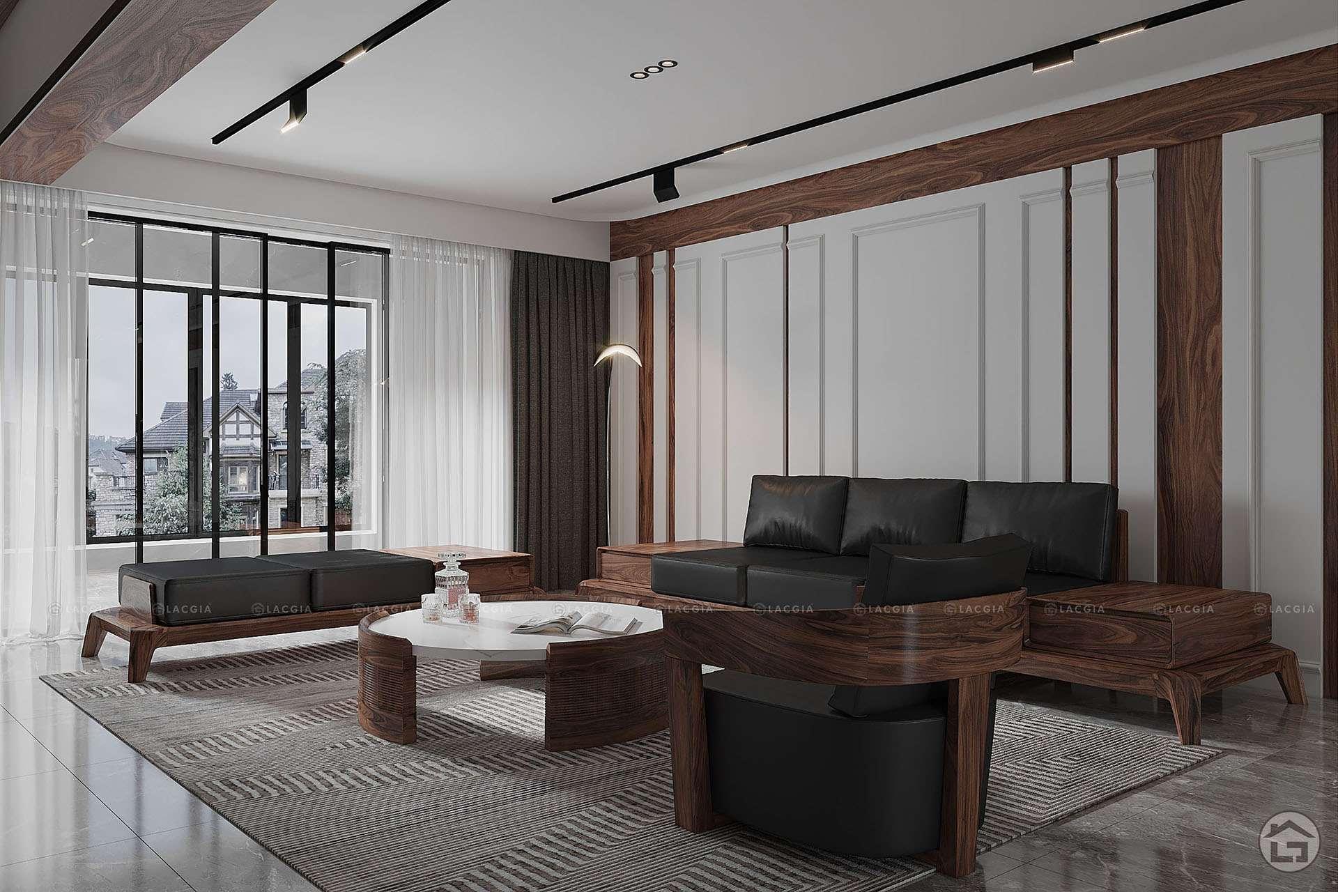 Sofa gỗ cao cấp SF10 Plus