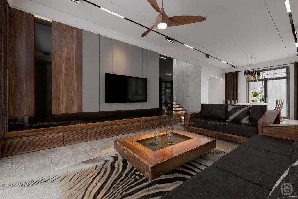 Thiết kế nội thất biệt thự đơn lập Ocean Park