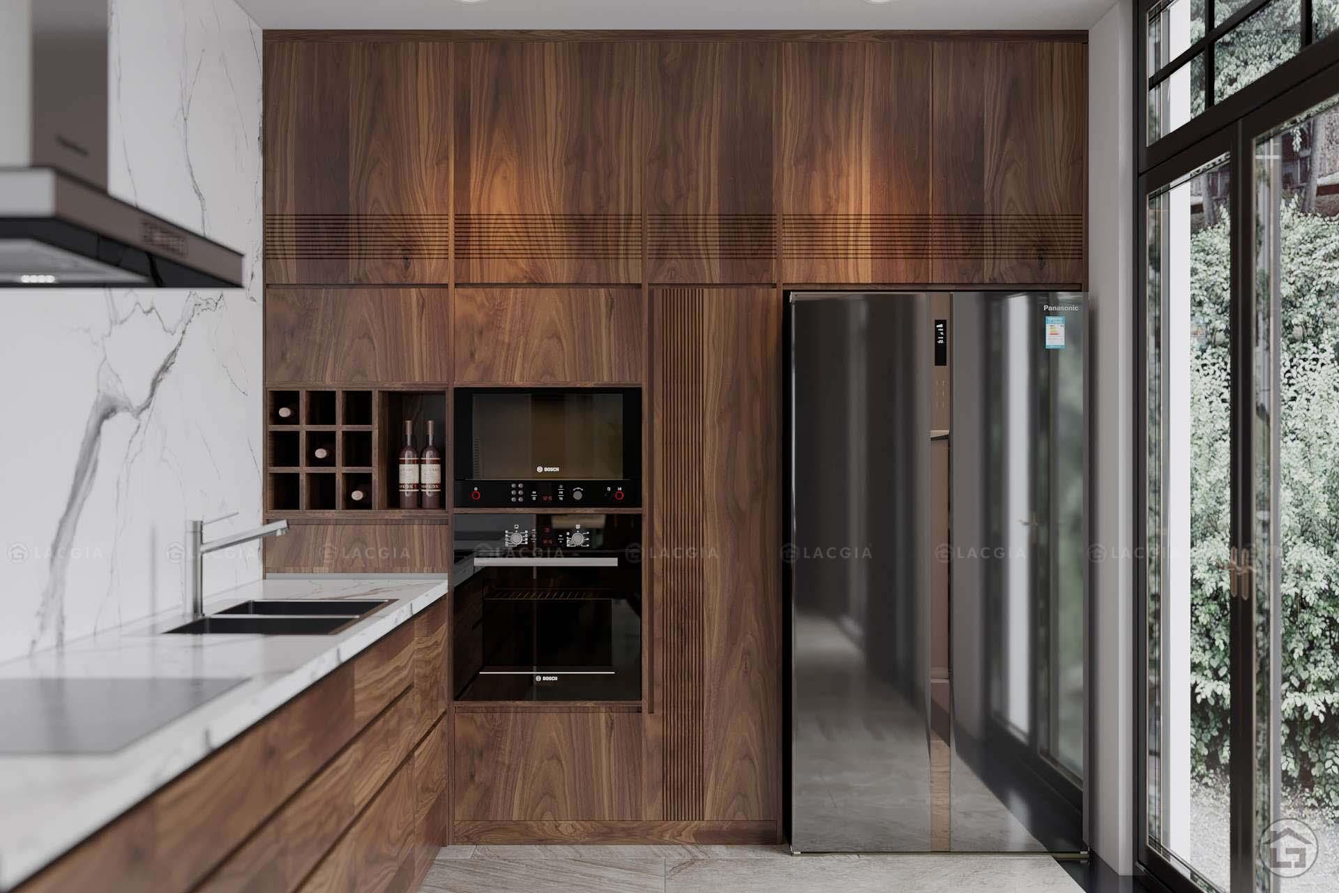 Các khách hàng rất yêu thích sử dụng tủ bếp gỗ tự nhiên