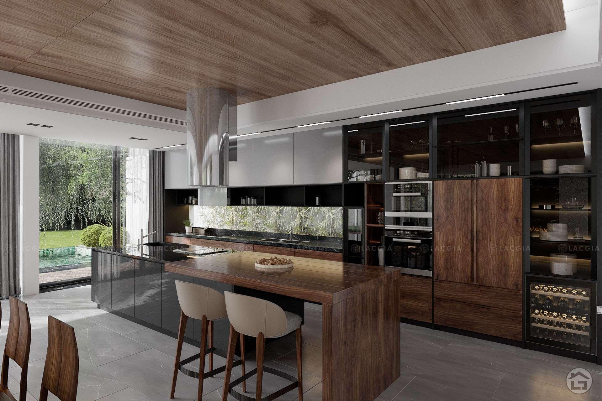 Bố trí vật dụng nội thất cần khoa học, hợp lý trong không gian phòng bếp