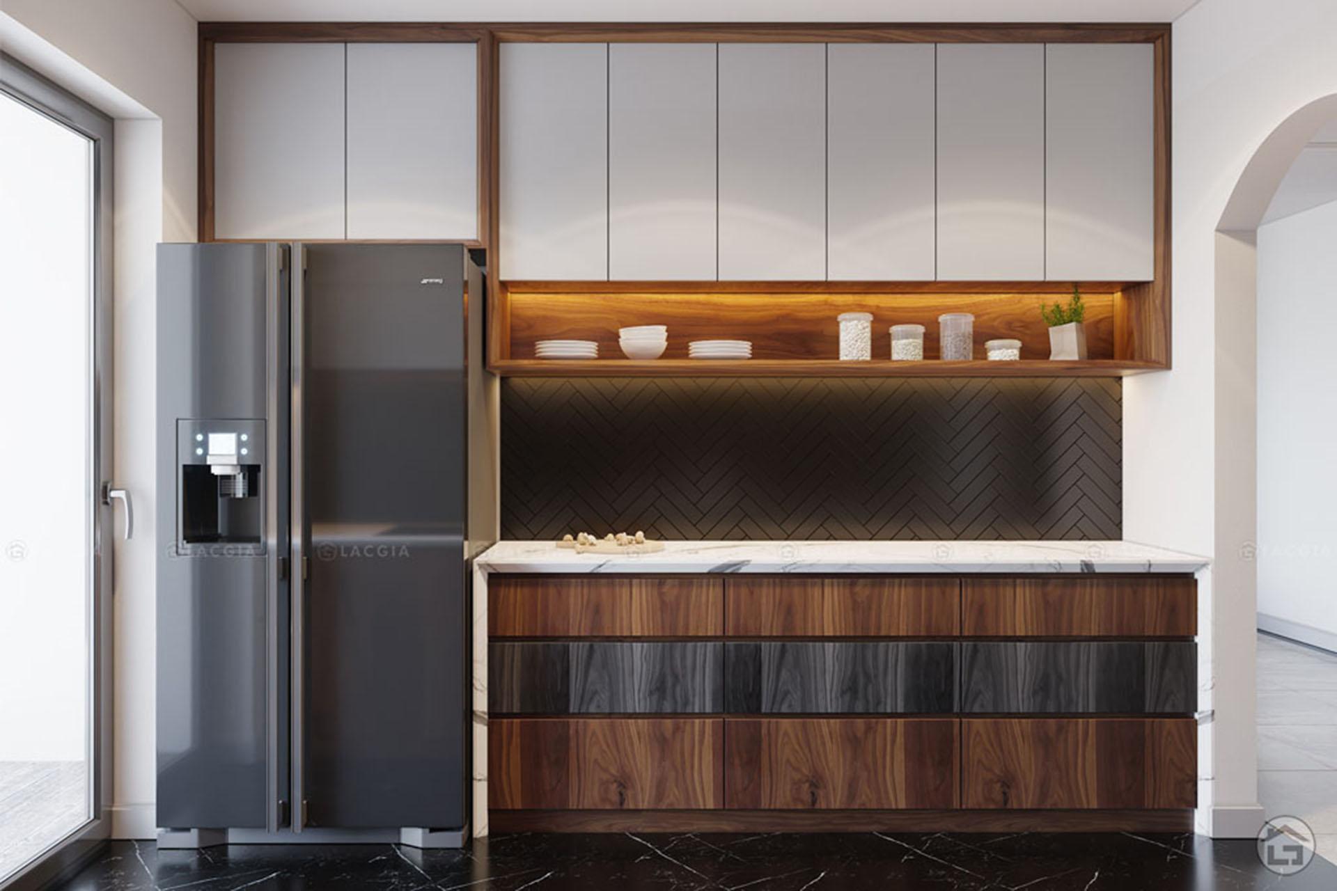 Cách bố trí nội thất và đồ dùng phòng bếp