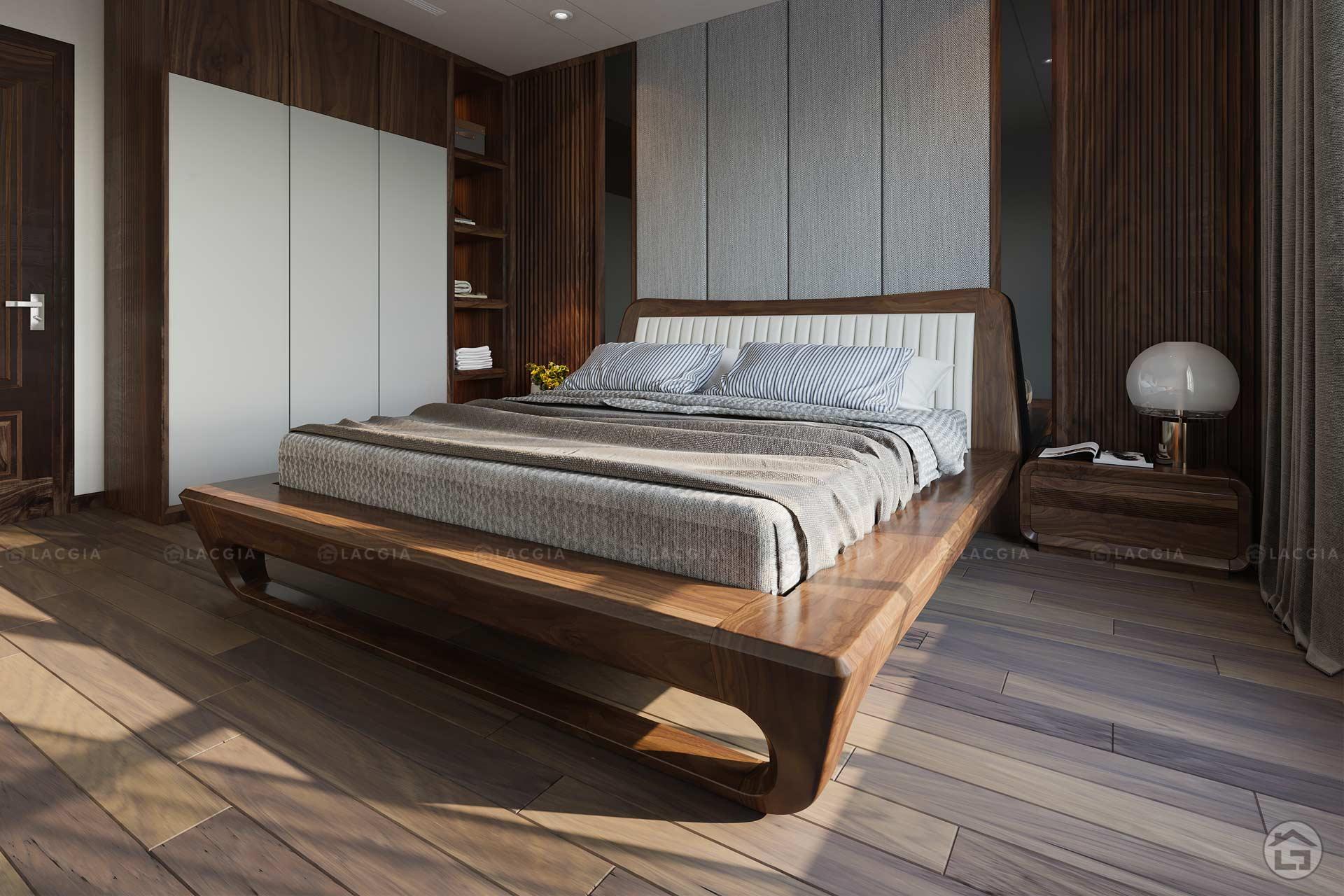 Thiết kế giường ngủ Master