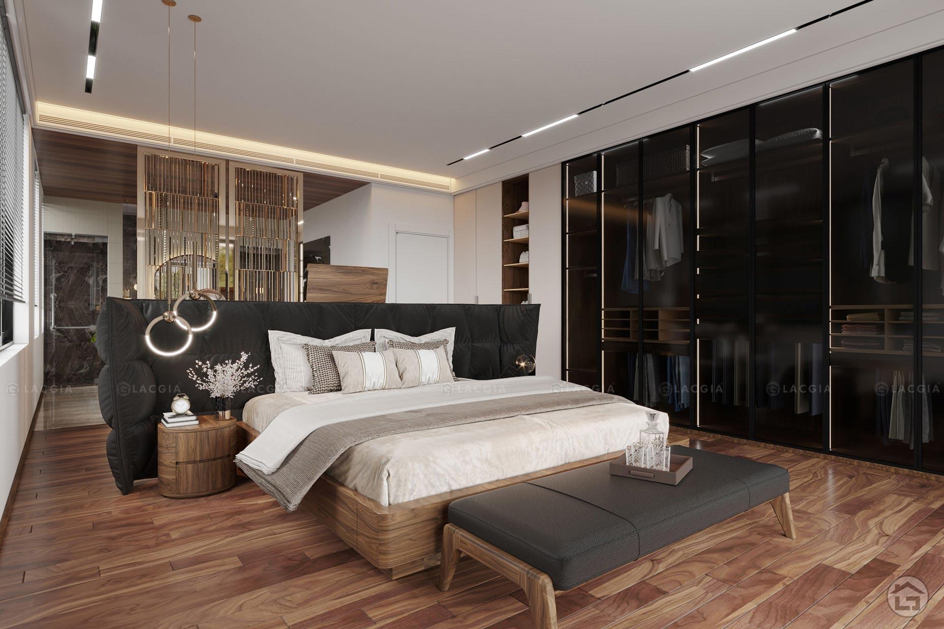 Phong cách nhẹ nhàng, trẻ trung của mẫu phòng ngủ hiện đại
