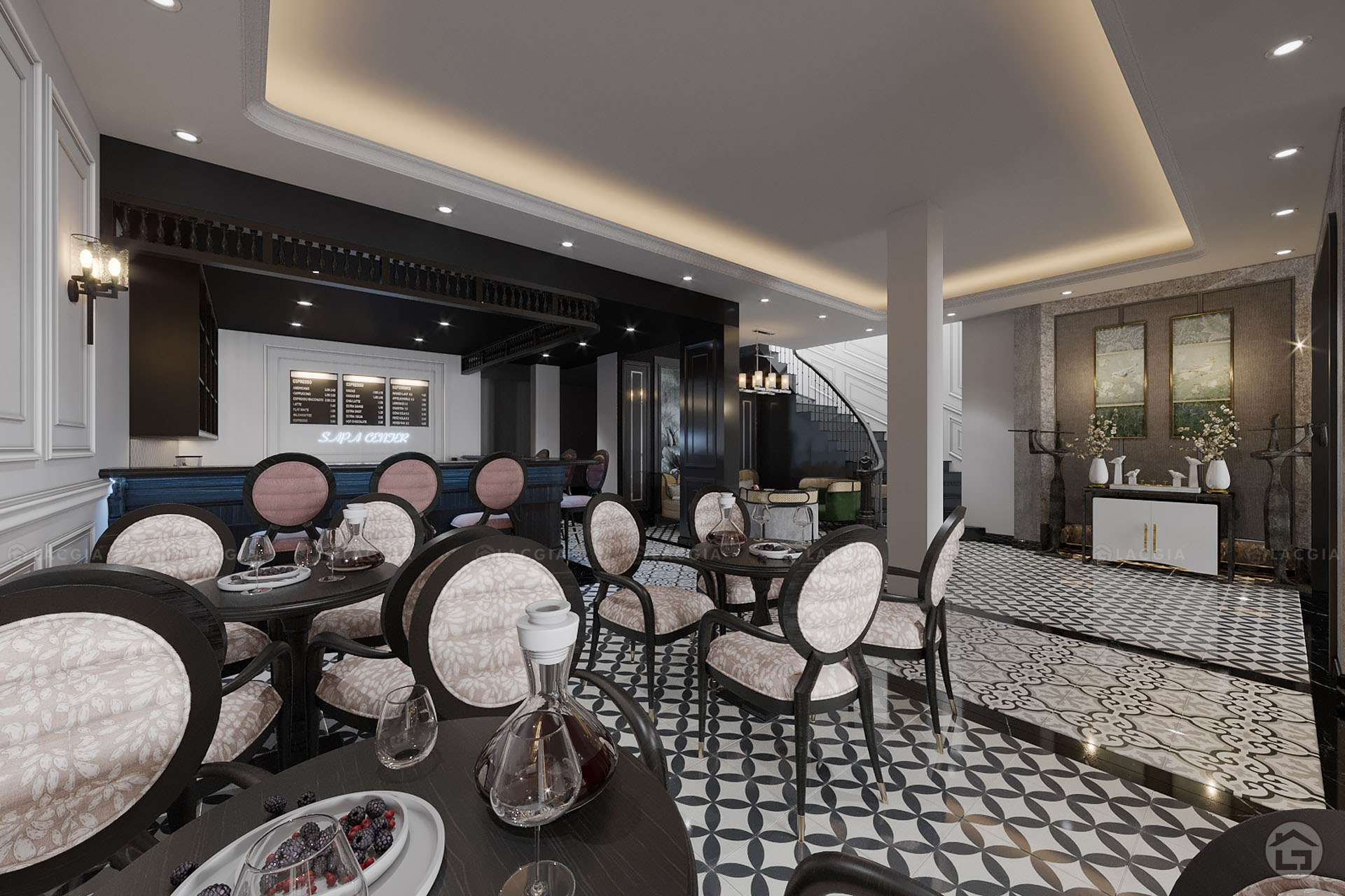 Thiết kế nội thất khách sạn Sapa sang trọng
