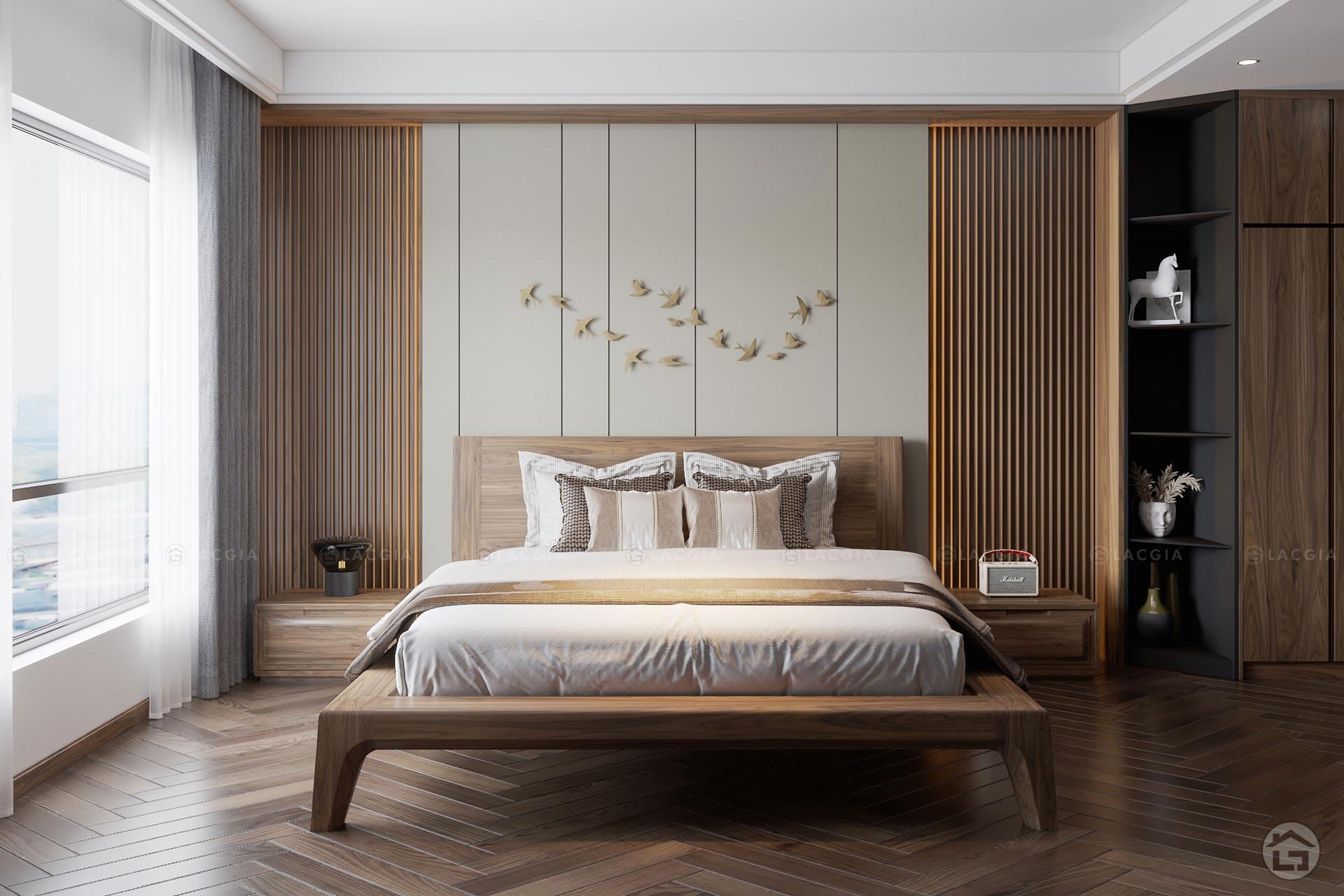 Mẫu phòng ngủ Master thiết kế theo phong cách hiện đại