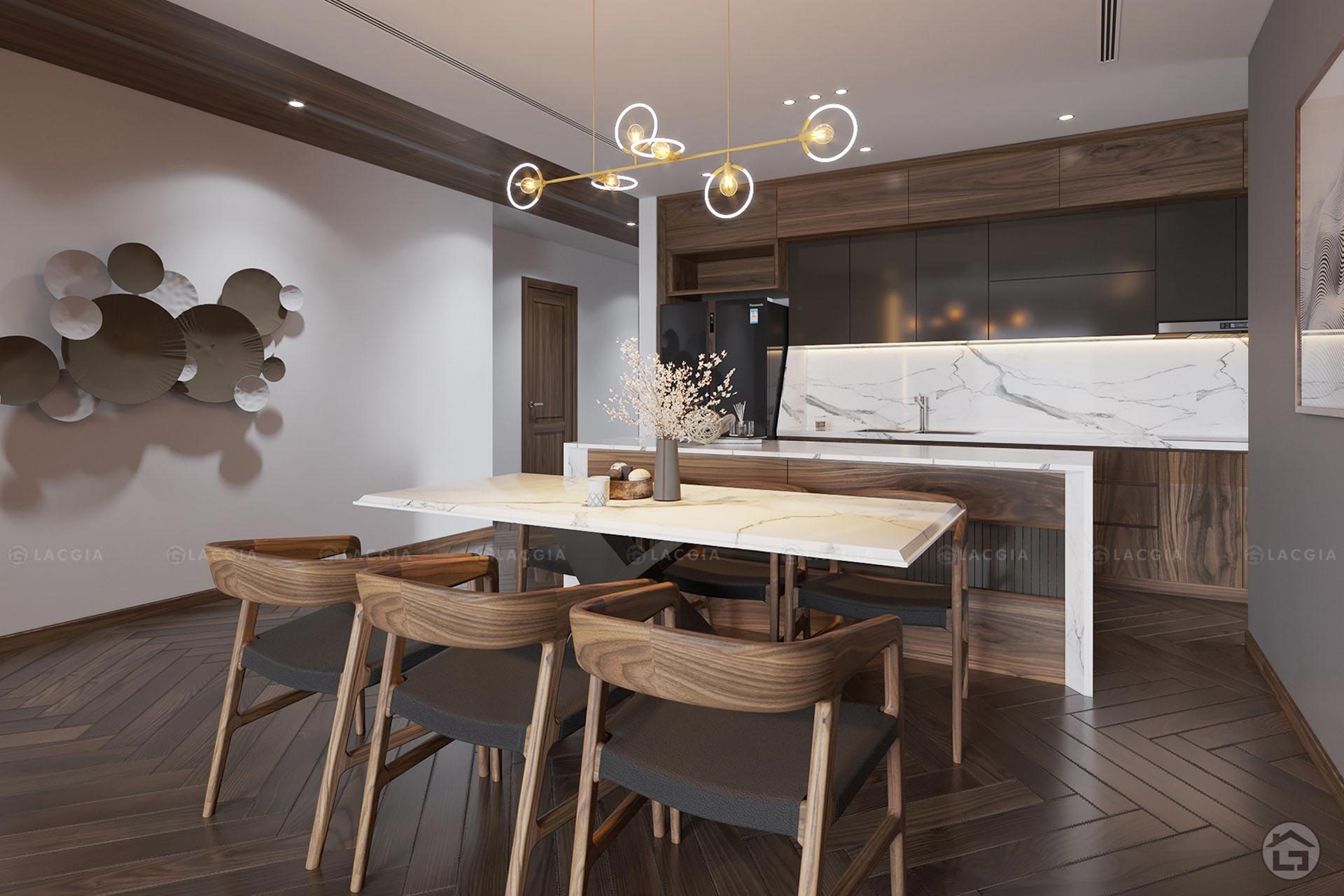Phòng bếp phải đặt ở vị trí đẹp mới đem lại tốt lành cho gia chủ