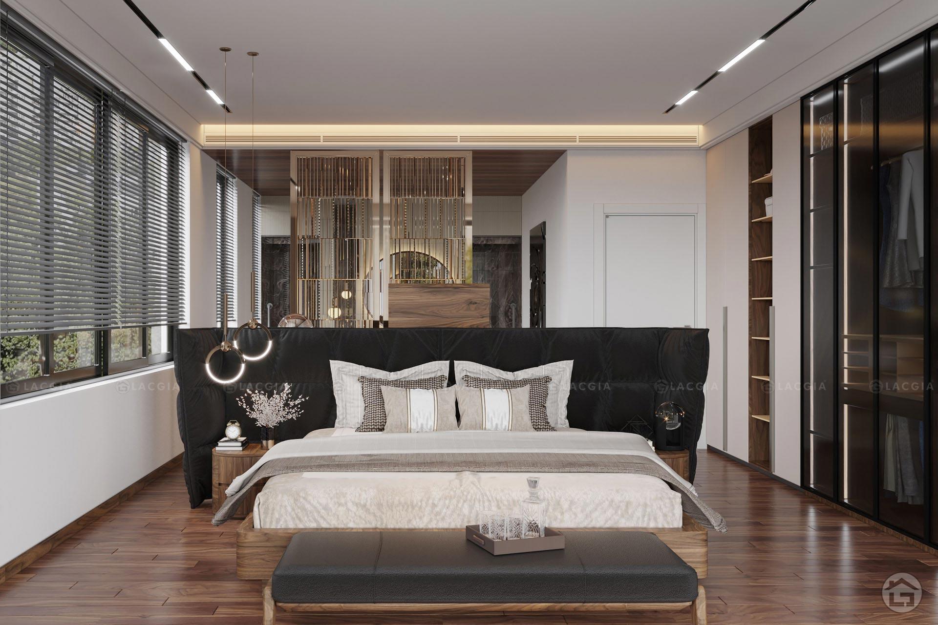 Giường ngủ gỗ cao cấp GN22