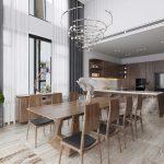 Thiết kế nội thất nhà phố 200m2 - Anh Bình (Bắc Ninh)
