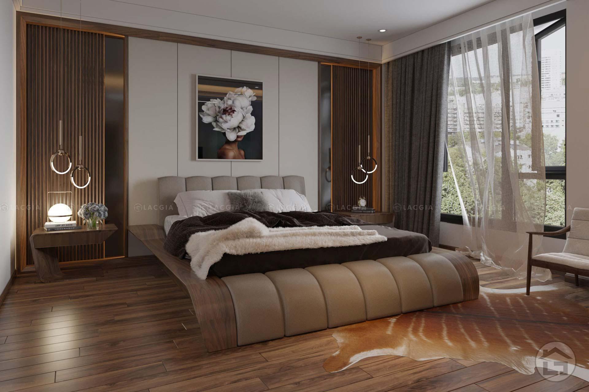 Giường ngủ hiện đại GN23