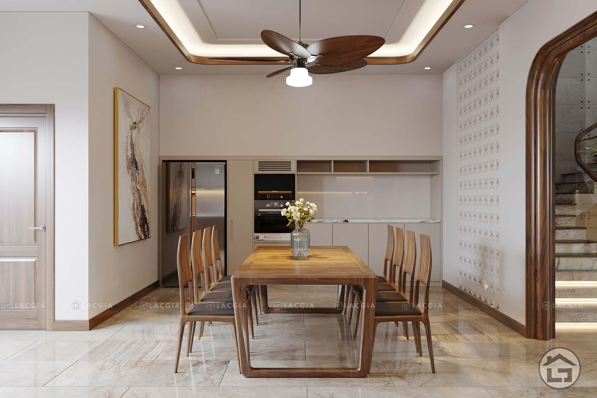 Không gian bếp sẽ thông thoáng và mở hơn khi có nhiều ánh sáng từ cửa sổ