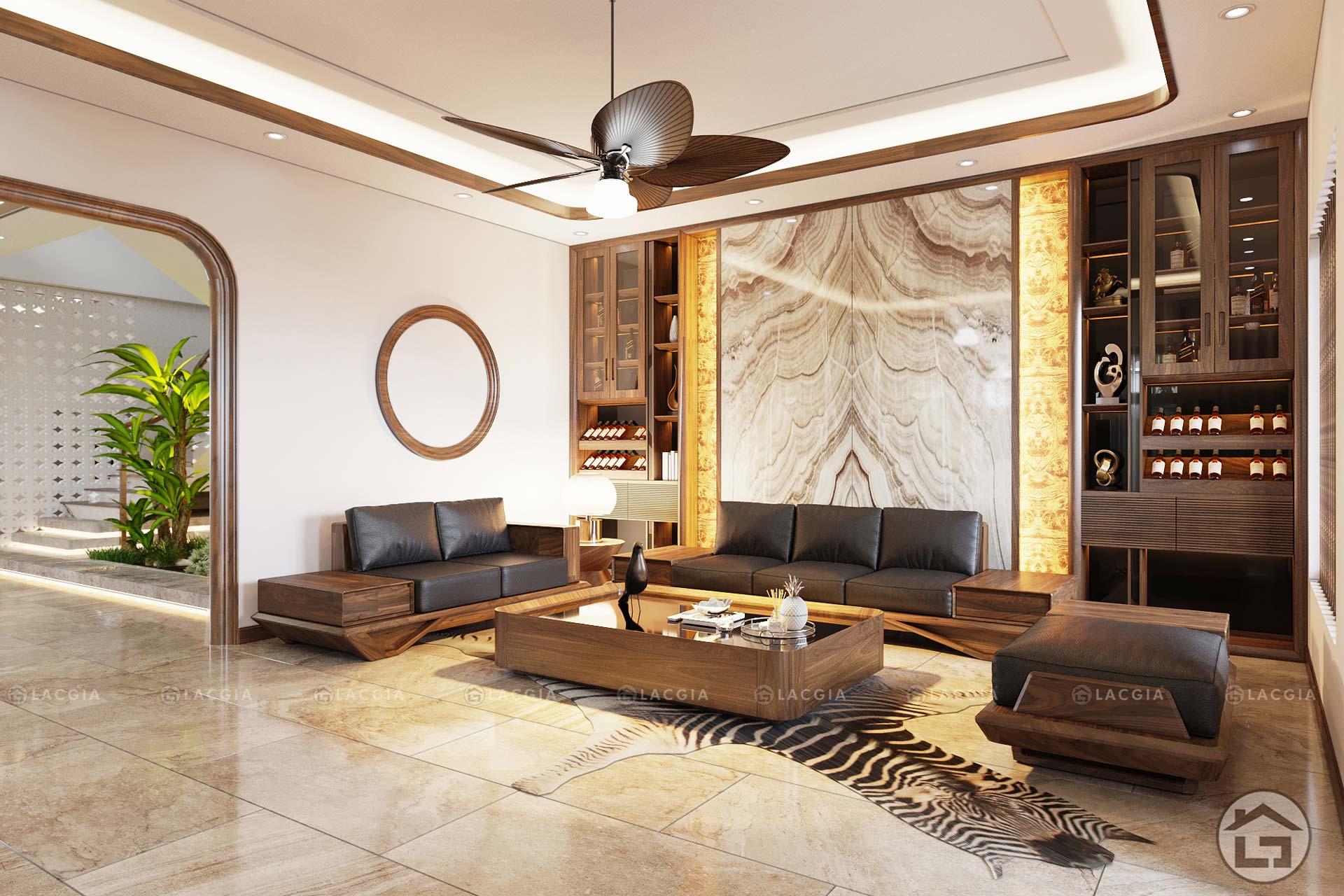 Tại sao nên dùng vách tivi phòng khách hiện đại?