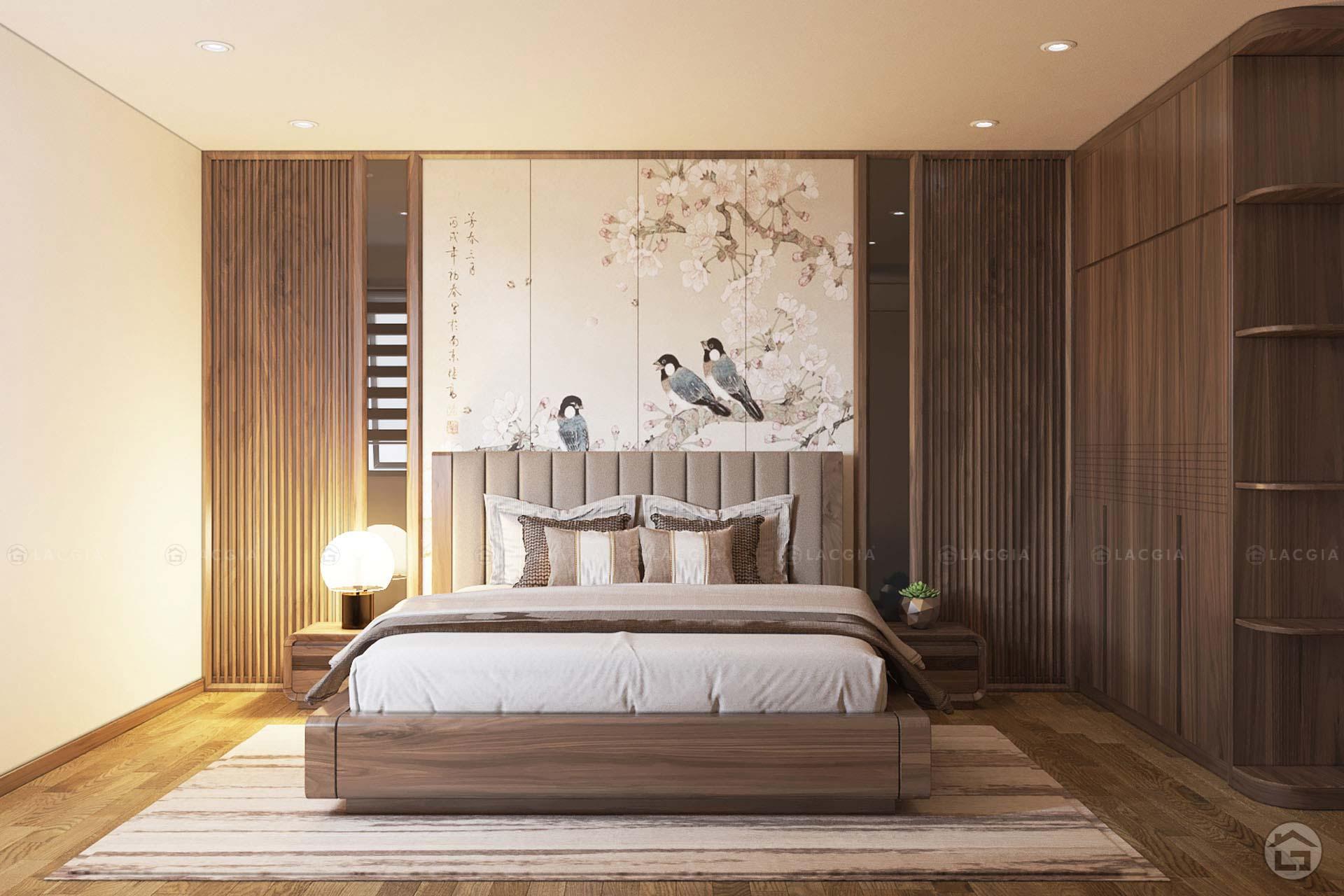 Phòng ngủ phong cách hiện đại đem lại sự linh hoạt và tươi mới