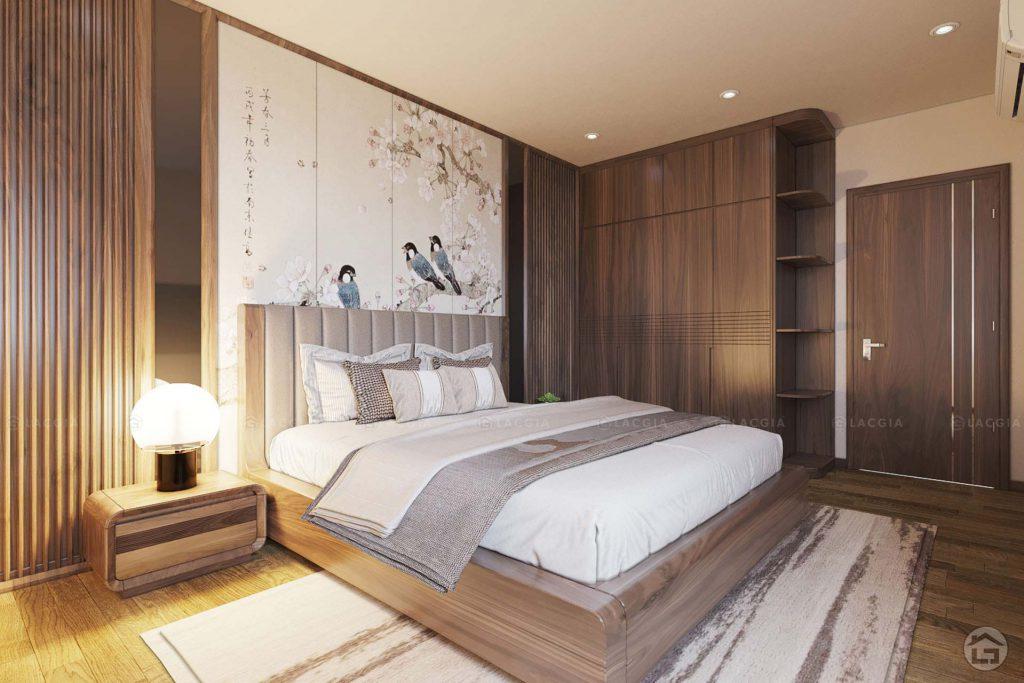 Thiết kế nội thất cho phòng ngủ căn hộ 2 phòng ngủ