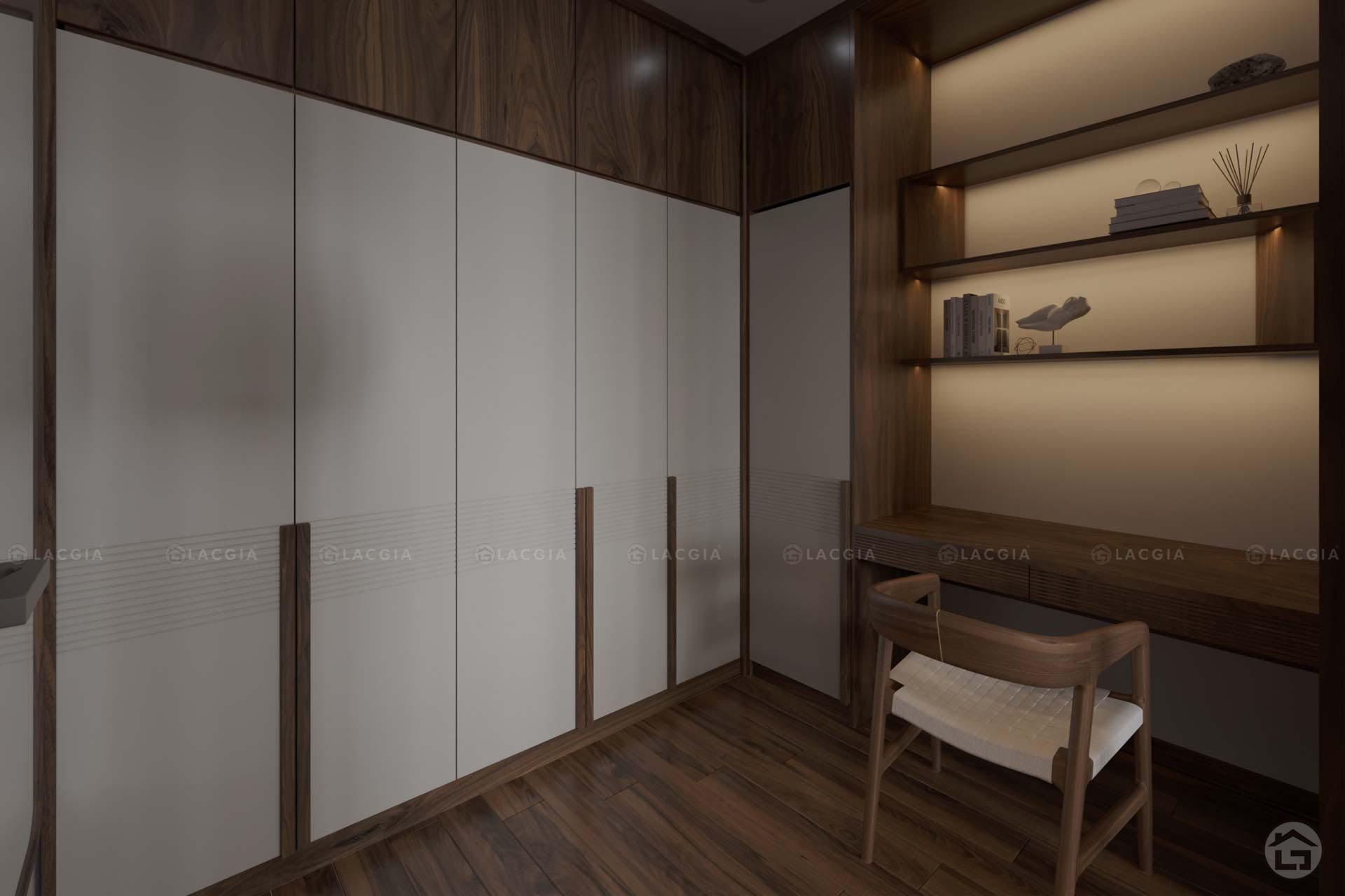 Tủ quần áo gỗ tự nhiên TA14