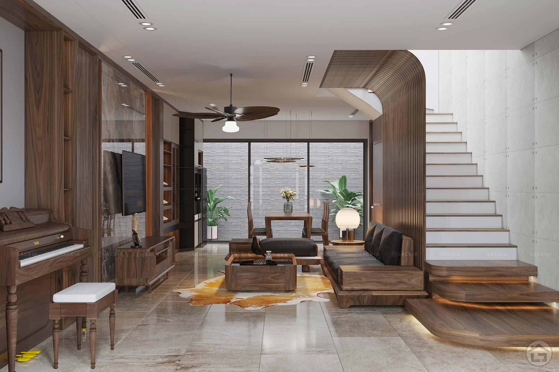 Thiết kế nội thất biệt thự liền kề The Eden Rose