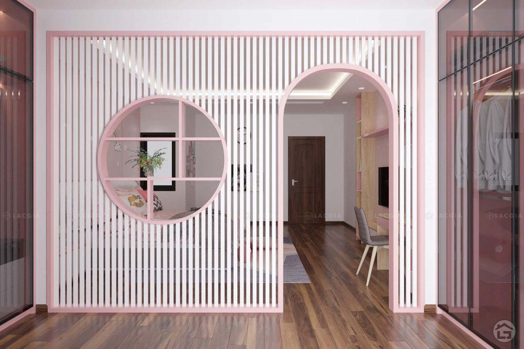 Mẫu thiết kế phòng ngủ đẹp cho bé gái 10 -12 tuổi