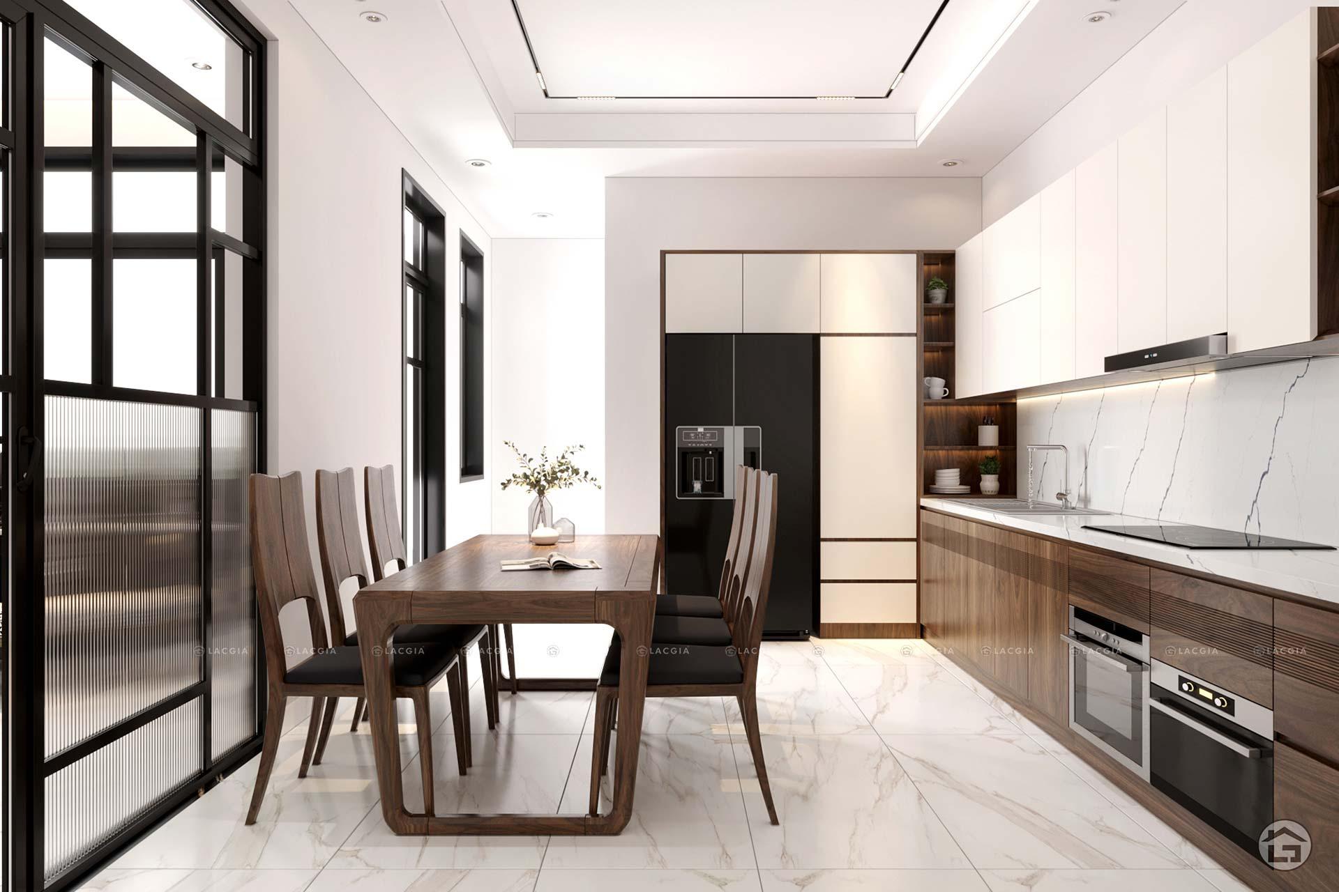 Thiết kế nội thất biệt thự cao cấp Lai Châu - Anh Hà Nhi