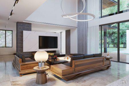 Thiết kế nội thất biệt thự, resort nghỉ dưỡng hiện đại